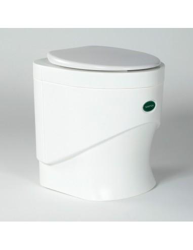 Pilinová toaleta Sanitoa - bílá