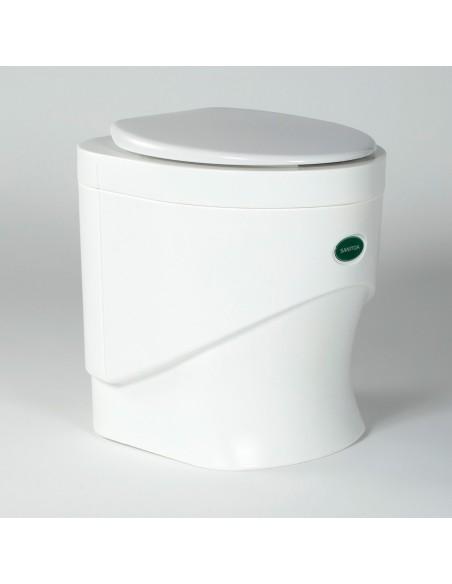 Sawdust toilet Sanitoa - white