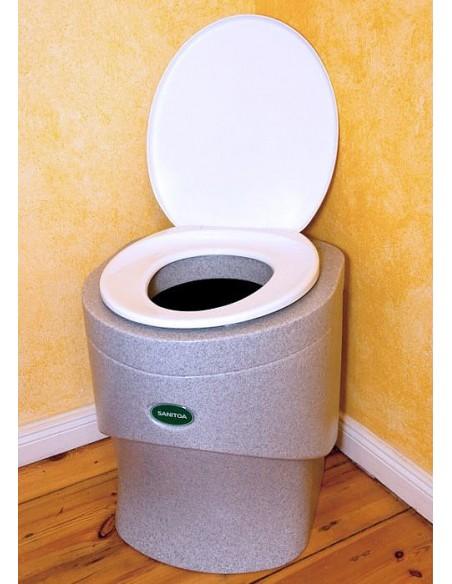 Pilinová toaleta Sanitoa - granit