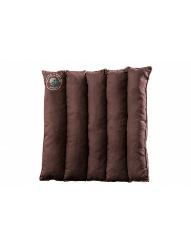 Cedar pillow-seat with cedar cone leaves 40 x 40