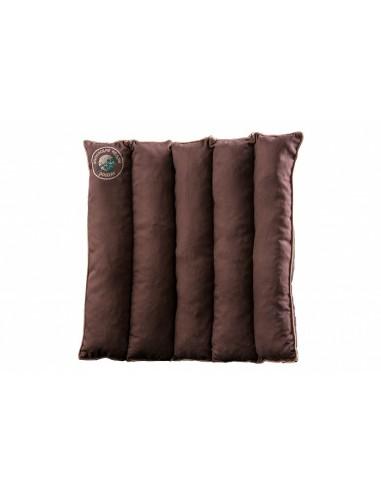 Cedar pillow-seat with cedar chips 40 x 40