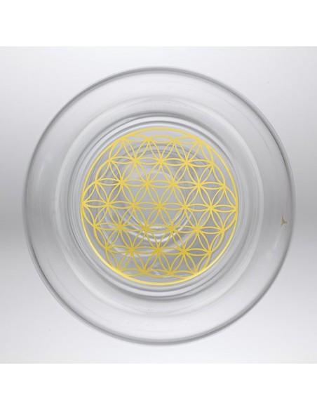 Vitalkaraffe Delicate Gold 0,5 l - Lebensblume