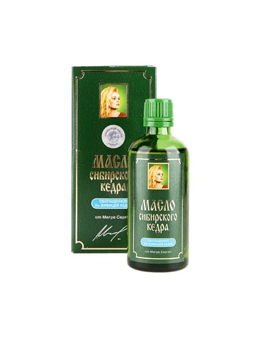 Cedar Nut Oil enriched with Cedar Resin 100 ml