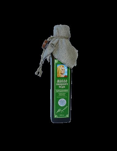 Zedernnussöl 250 ml kaltgepresst - Klingenden Zedern Russlands
