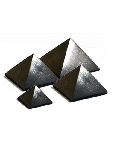Pyramida šungit XL - 9x9 cm