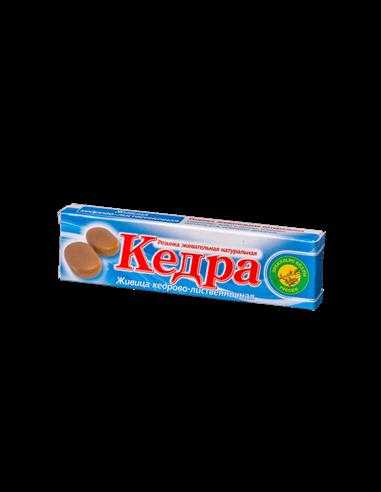 "Žvýkací cedrovo-modřínová pryskyřice ""Kedra"" - čistá 4ks"