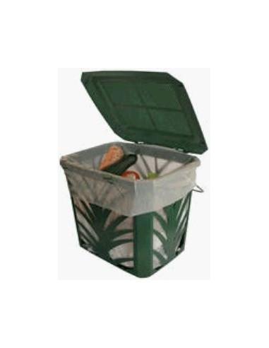 Ventilated basket on the kitchen biowaste 8l